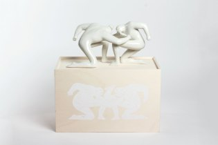 "Cleon Peterson x Case Studyo ""Balance of Power"" Sculpture Edition"