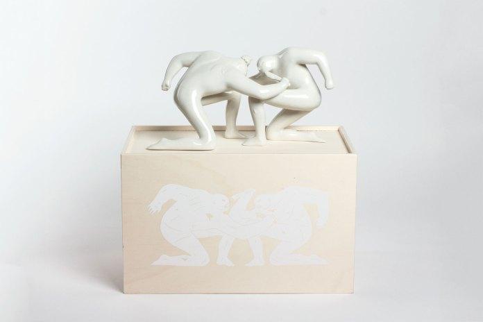 "Cleon Peterson x Case Studyo ""Balance of Power"" Sculpture Edition"
