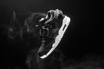 A Closer Look at the Nike Air Cruz Black Suede Silhouette