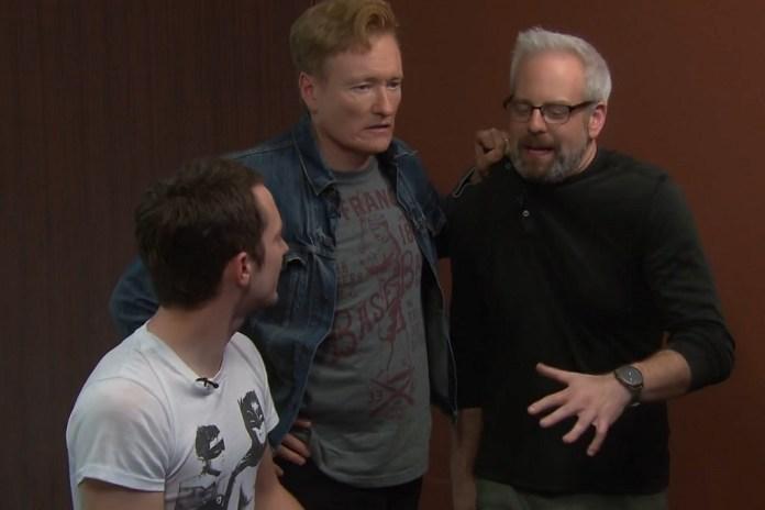 'Final Fantasy XV' Drives Conan O'Brien & Elijah Wood Absolutely Insane