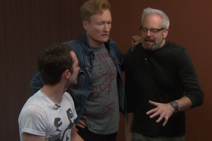 'Final Fantasy XV' Drives Conan O'Brien & Elijah Wood Absolutely Insane
