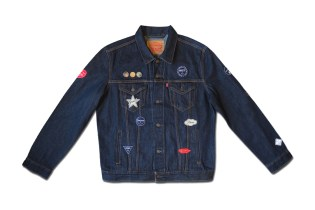 "This Levi's Denim Jacket Gets Patched up for the colette x Ceizer ""Mixed Emotions"" Collection"