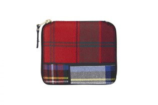 "COMME des GARÇONS Releases a Wallet Collection in ""Tartan Patchwork"""