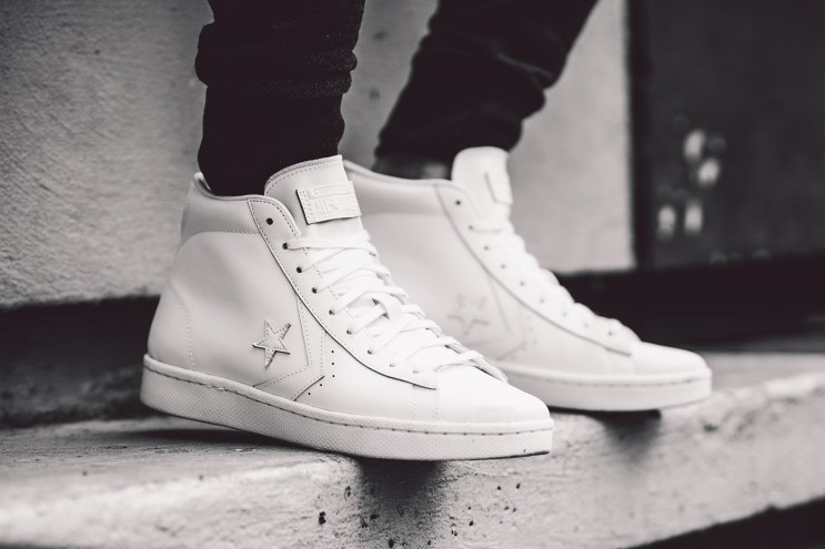 Converse Takes the Storied Pro Leather From the Hall of Fame to the Daily Grind