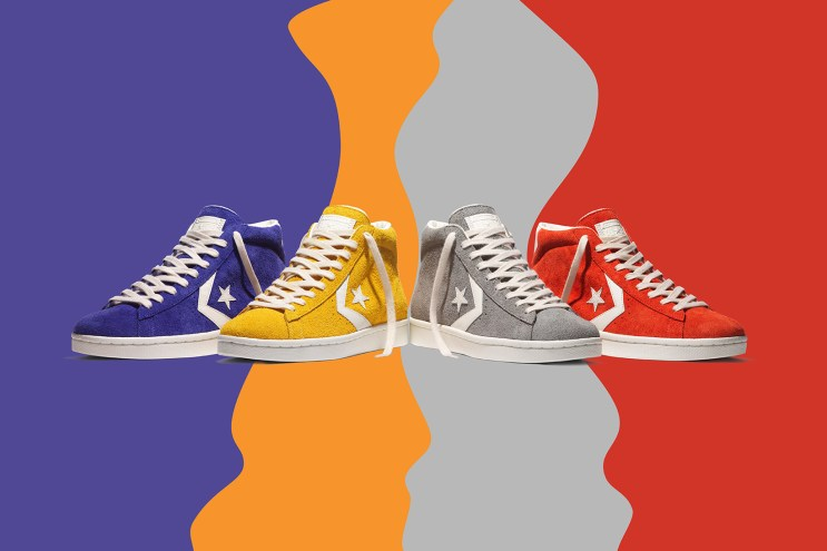 Converse Celebrates 40 Years of the Pro Leather With New Vintage Suede Pack