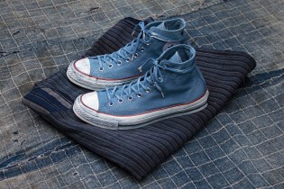 Converse Goes Dutch With an Indigo-Hued Tenue De Nîmes Collaboration