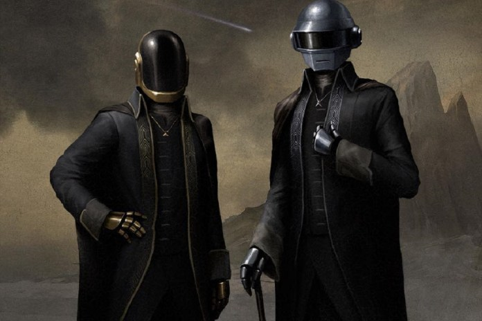 """The Daft Punk Portrait Painting Featured in The Weeknd's """"Starboy"""" Video Can Be Yours"""