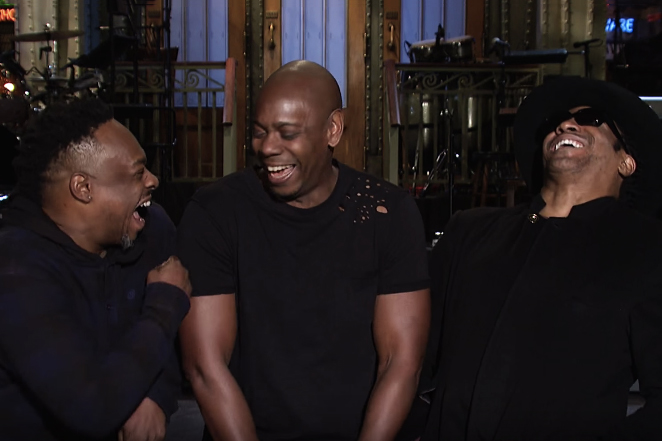 Watch Dave Chappelle and A Tribe Called Quest's 'SNL' Promo