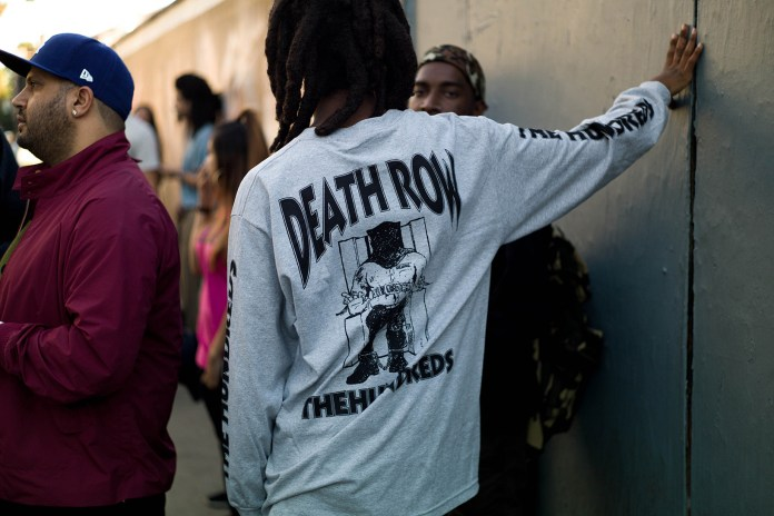 Death Row Records Teams up With The Hundreds to Celebrate 25th Anniversary