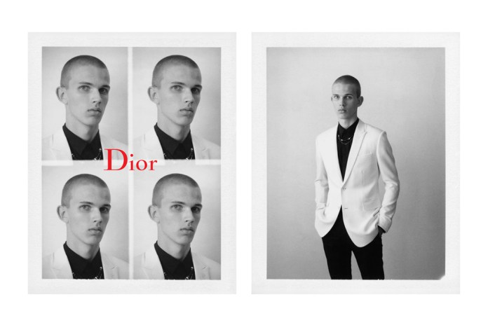 """Check out Dior Homme's 2017 Spring/Summer """"Black Carpet"""" Campaign"""