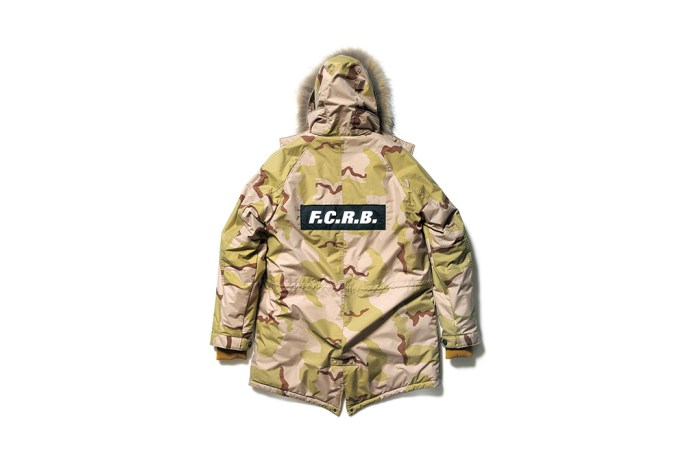 F.C.R.B. Releases New Outerwear Options in Camo, Stars and Plaid