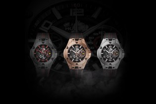Hublot Taps Ferrari for a Limited-Edition Big Bang