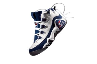 The FILA 95 Sneaker Returns in Its OG White and Navy Colorway This Week