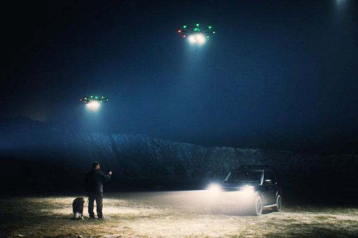 In the Future, These Drones Will Act as Flying Streetlamps on Dark Roads