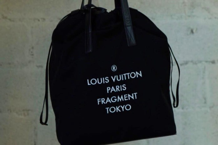 Kim Jones Teases a New fragment design x Louis Vuitton Collaboration