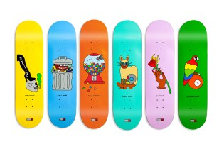 5BORO Joins Forces With Illustrator Gabriel Alcala for a Vibrant Series of Decks