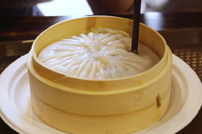 There's Only One Proper Way to Eat This Humongous Soup Dumpling