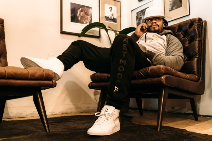 GREATS Goes 'Beast Mode' Once Again With a New Marshawn Lynch Collaborative Sneaker