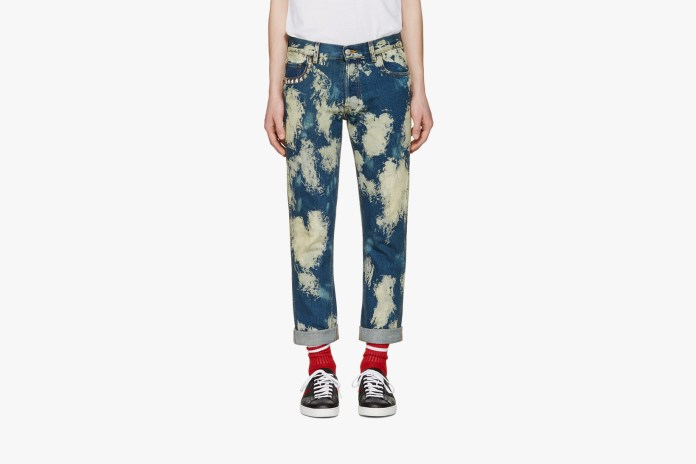 Gucci's Bleached Punk Denim Jeans Are the Staple You Need in Your Closet