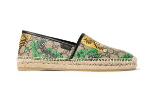 Gucci Gives the Classic Espradille an Eye-Catching Makeover