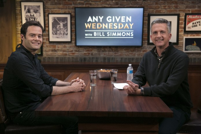 HBO Cancels Bill Simmons' Show 'Any Given Wednesday' After 5 Months