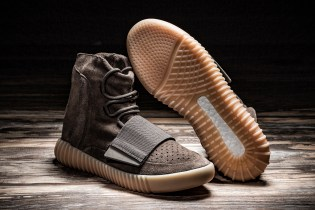 "Grab the YEEZY Boost 750 ""Light Brown"" at Retail Price Today via HBX Archive"
