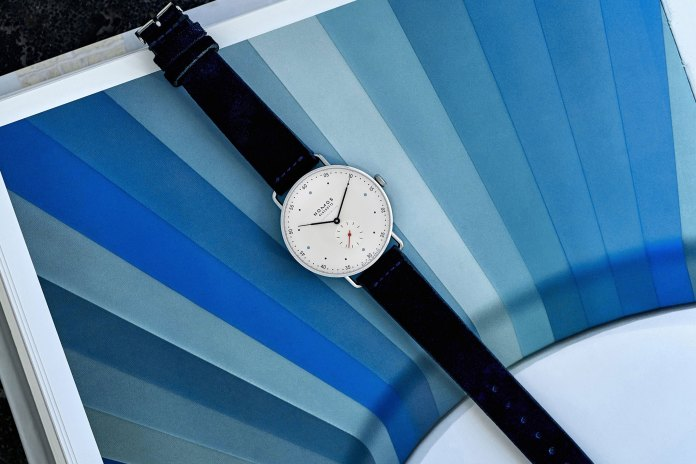 HODINKEE Presents a Collaborative NOMOS Glashütte Metro Chronometer