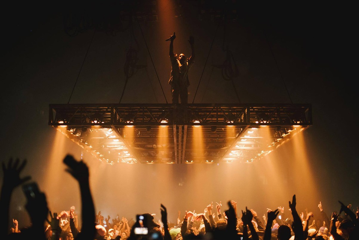 INTERIORS Behind the Design of Kanye Wests Saint Pablo Tour Ye Yeezy Concerts Shows