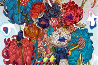 "James Jean and MAEKAN Release ""Masquerade"" Print"