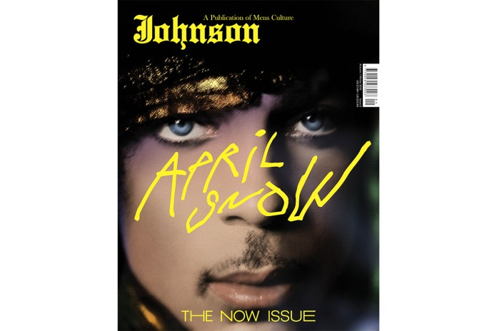 Prince, Fendi and More Front 'Johnson' Magazine's Latest Issue