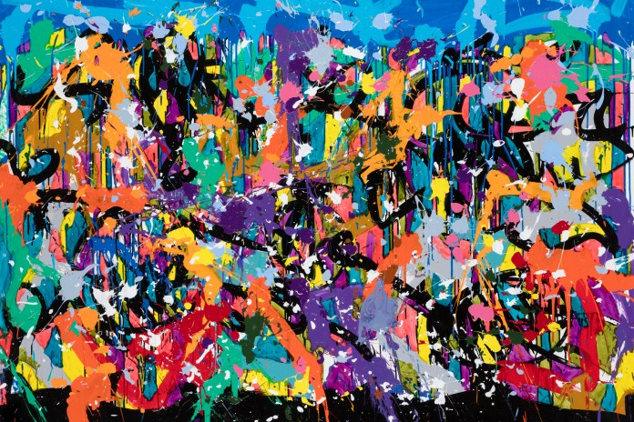 "JonOne Discovers the Beauty of Crowded Cities in His Forthcoming ""Crossing Over"" Exhibition"