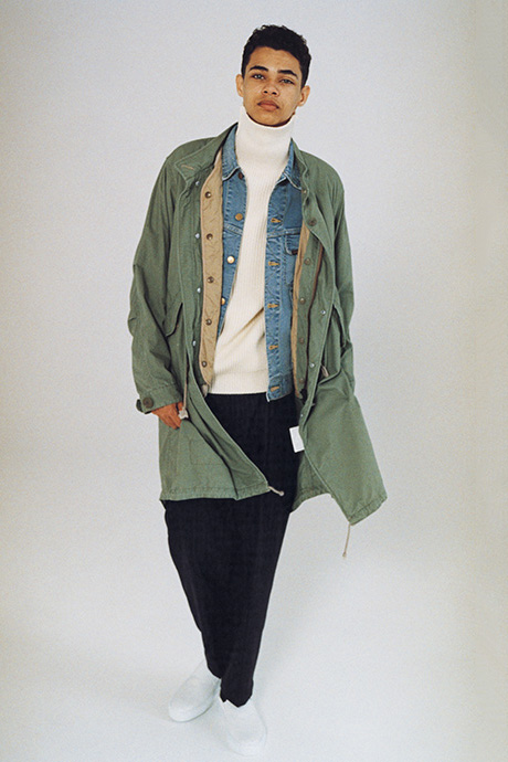 Journal Standard 2016 Fall/Winter Lookbook Layered Looks Coats Peacoats Flannels Japan Andersen-Andersen J.S Homestead - 1807581