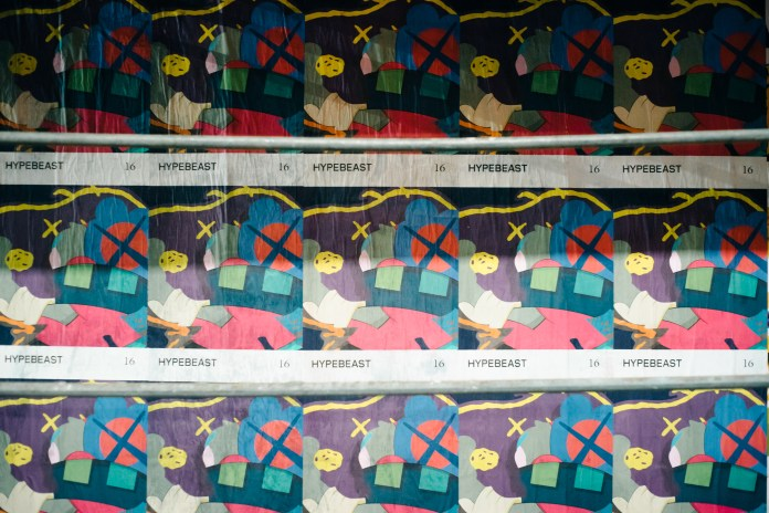 The KAWS-Designed 'HYPEBEAST Magazine' Cover Takes Over NYC