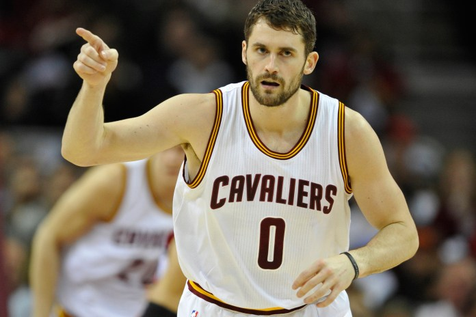 Watch Cavaliers' Kevin Love as He Sets a New NBA Record