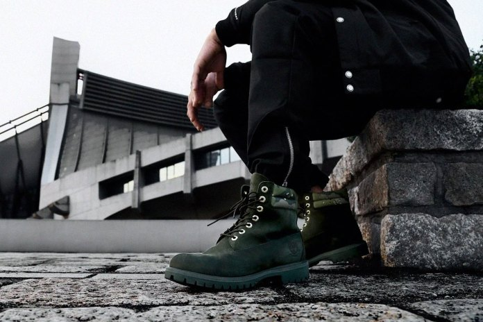 Timberland's Iconic 6'' Boot Receives a Camo-Infused Makeover by Kinetics