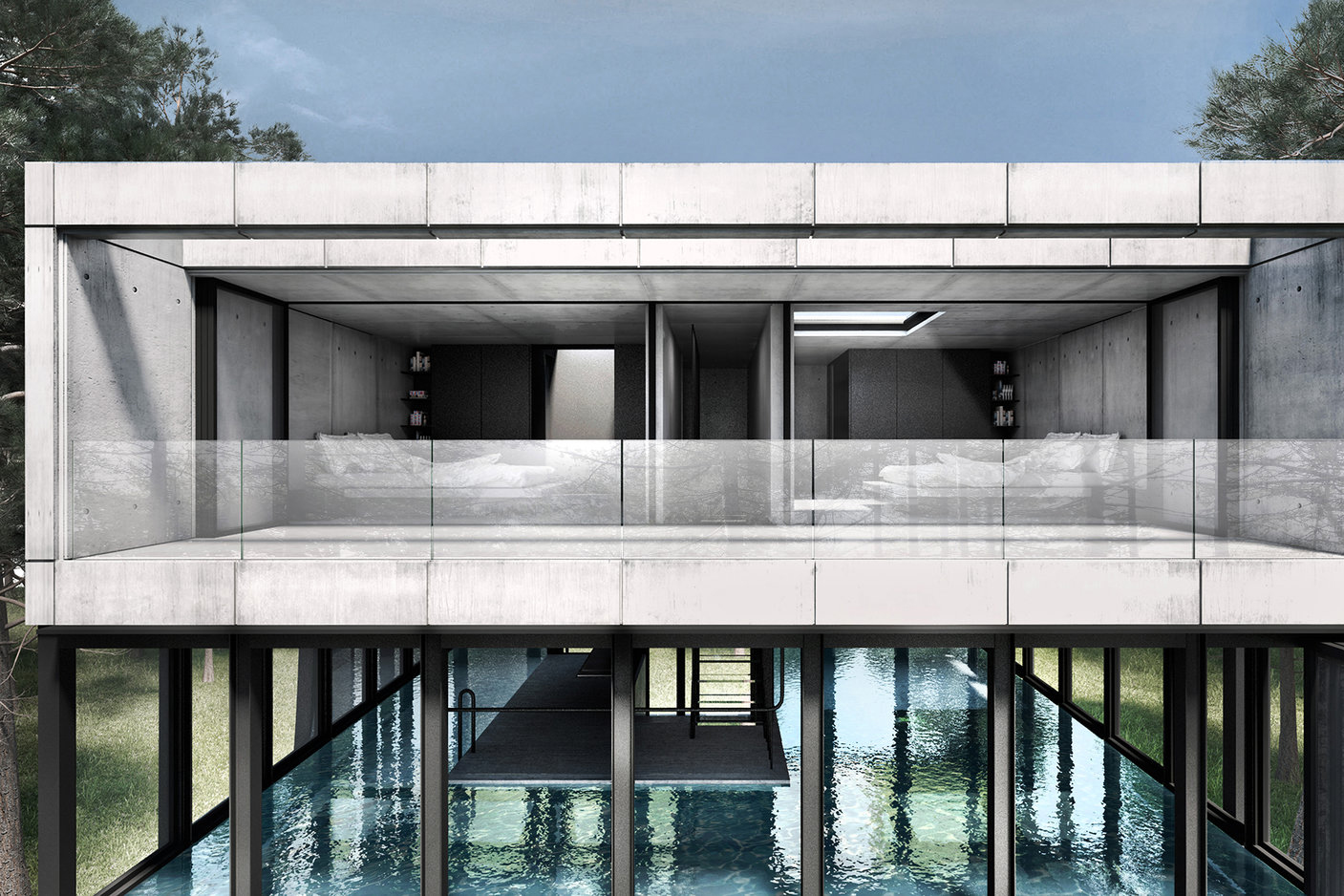 Laav architects villa clessidra concept hypebeast for Concept villa