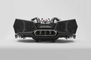 The Lamborghini Aventador's Attractive Aesthetic Inspires the Ixoost Esavox Sound System