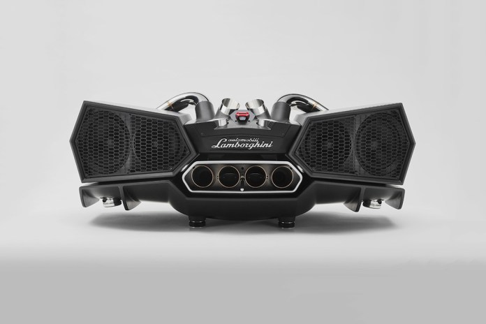 The Lamborghini Aventador's Attractive Aesthetic Inspires the Ixoost Esavox Sound System