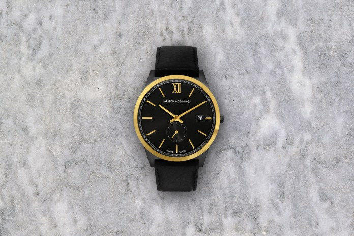 Larsson & Jennings Releases a Limited Version of Its Saxon Timepiece for 2016 Fall/Winter