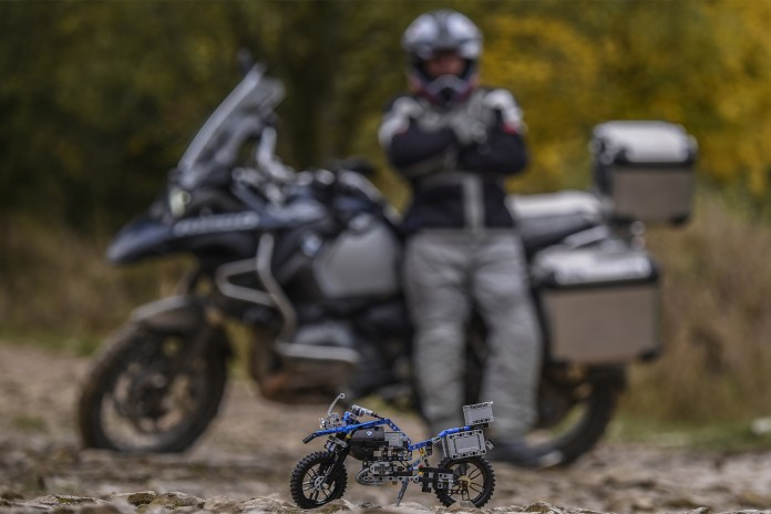 The BMW R 1200 GS Adventure Has Been Transformed Into a LEGO Set
