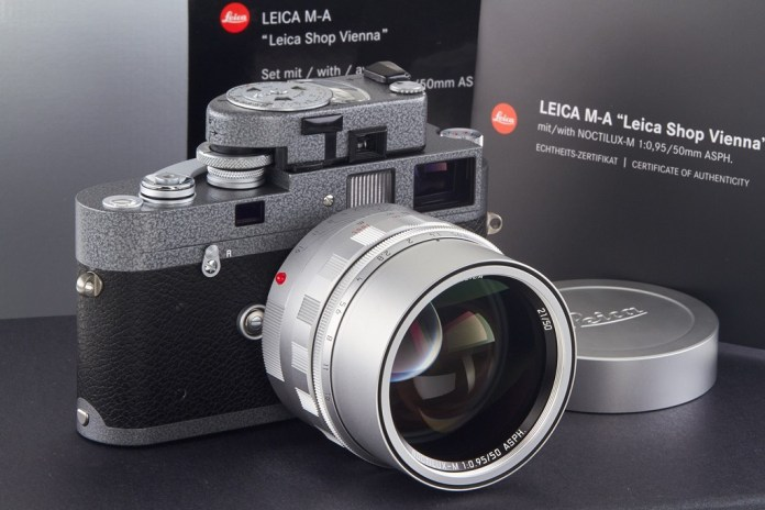 "Leica M-A ""25 Years"" Limited Edition Appeals to the Elite and Ultra Rich"