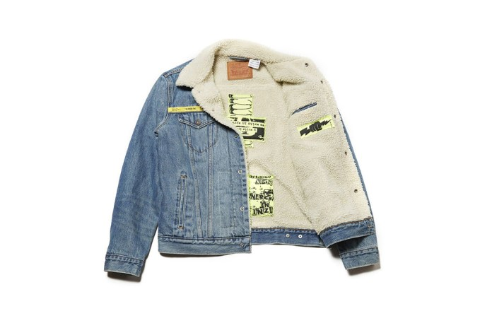 UNDERCOVER Customizes Levi's Trucker Jacket for Its 50th Anniversary