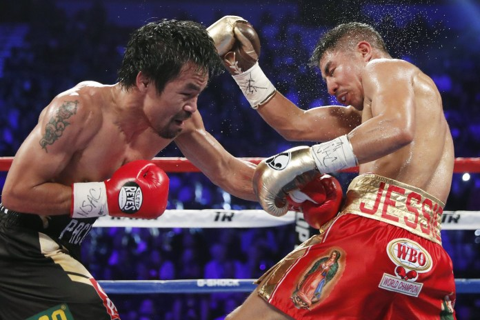 Manny Pacquiao Refuses to Rule out Mayweather Rematch After Defeat of Jessie Vargas