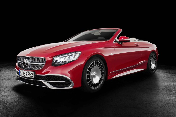 This Is the Extremely-Limited Mercedes-Maybach S650 Cabriolet