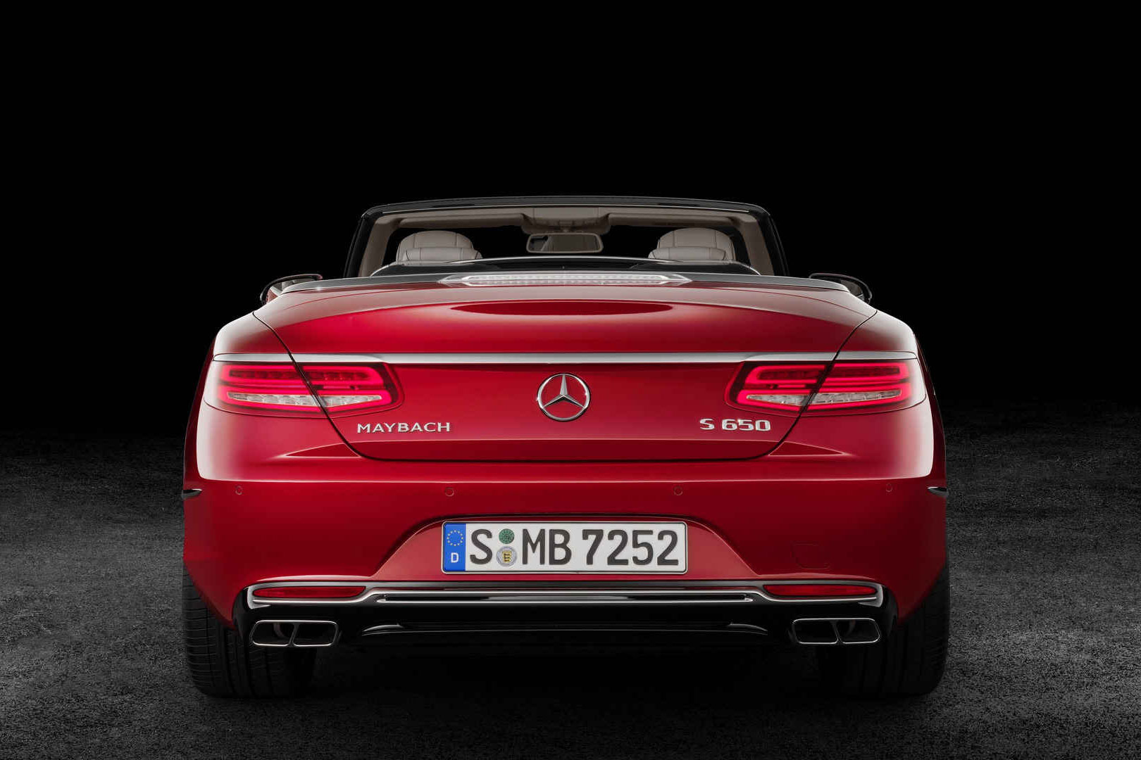 The Mercedes Maybach S650 Cabriolet Debuts at LA Auto Show ...