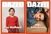 Millie Bobby Brown & Finn Wolfhard From 'Stranger Things' Cover the Winter Issue of 'DAZED'