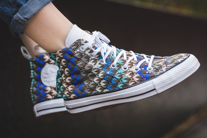 Missoni and Converse Are Releasing a Crochet Chuck Taylor