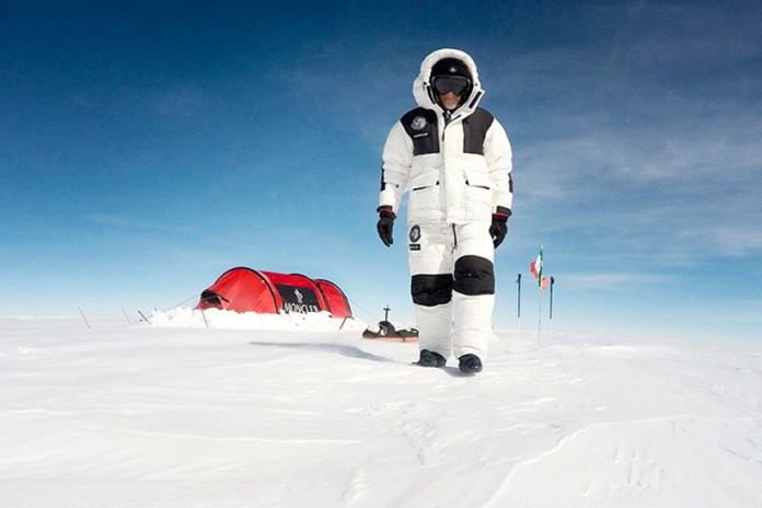 Moncler Outfits Explorer Michele Pontrandolfo Once Again for an Expedition to Antarctica