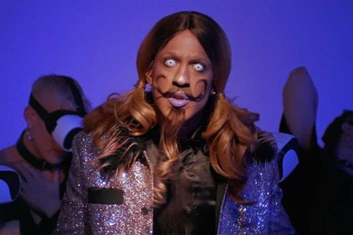 "Mykki Blanco Releases ""Loner"" Video With PornHub and Nicola Formichetti"