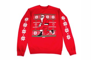 Nas Releases Kneeling Santa Sweaters Just in Time for Christmas